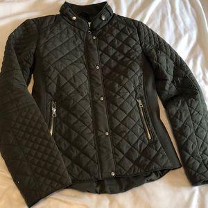 New York & Company hunter green spring jacket